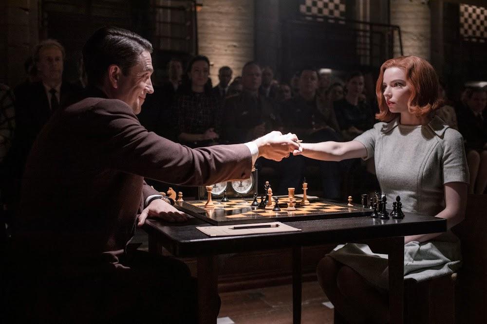 gambit królowej recenzja analiza kadrów filmografia