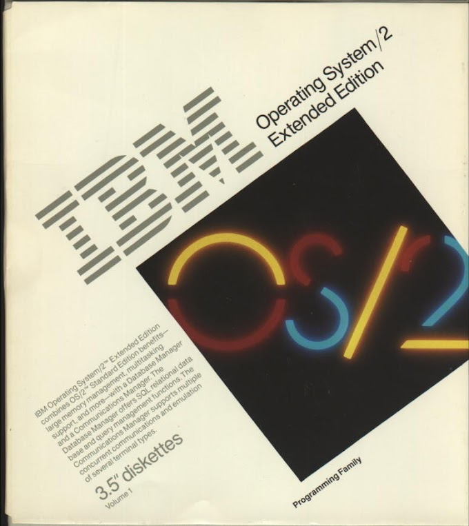 OS/2 1.10 Extended Edition
