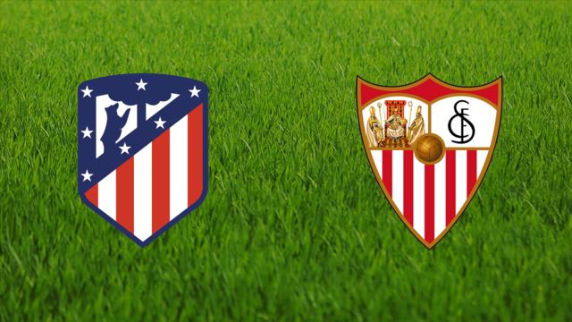 ملخصات واهداف مباراة اتليتكو مدريد واشبيلية اليوم