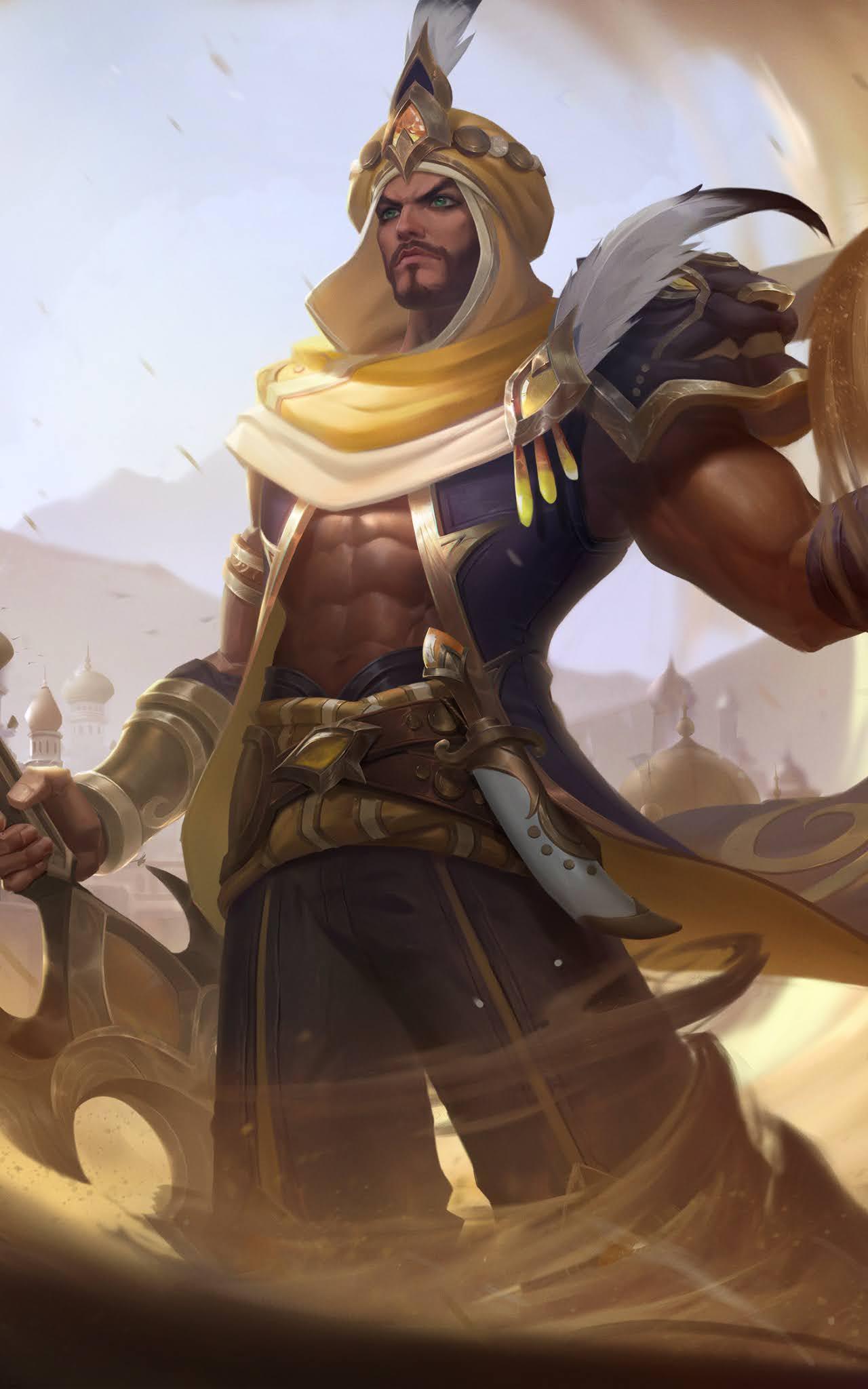 Khaleed Wallpaper Free Prince of Sand Mobile Legends