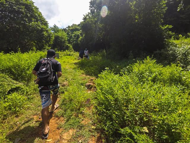 Trekking Mauban Falls Morong Bataan