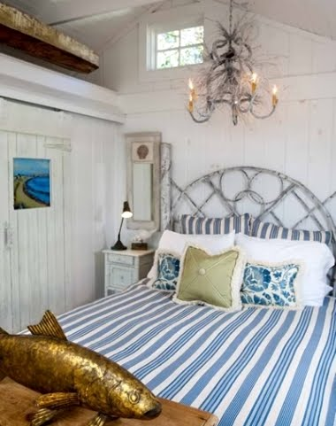 small beach cottage bedroom