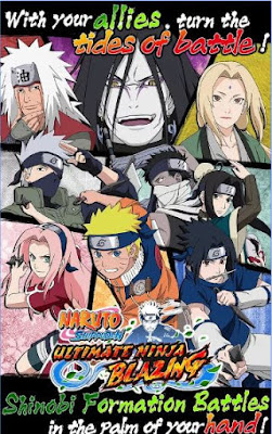 Ultimate Ninja Blazing APK2