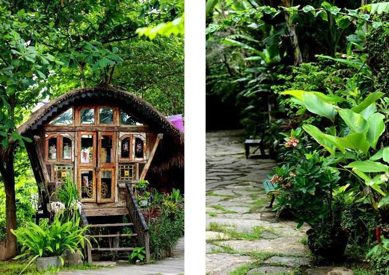 La Laguna Bali, Bali, Indonesa, Canggu, Gypsy caravan