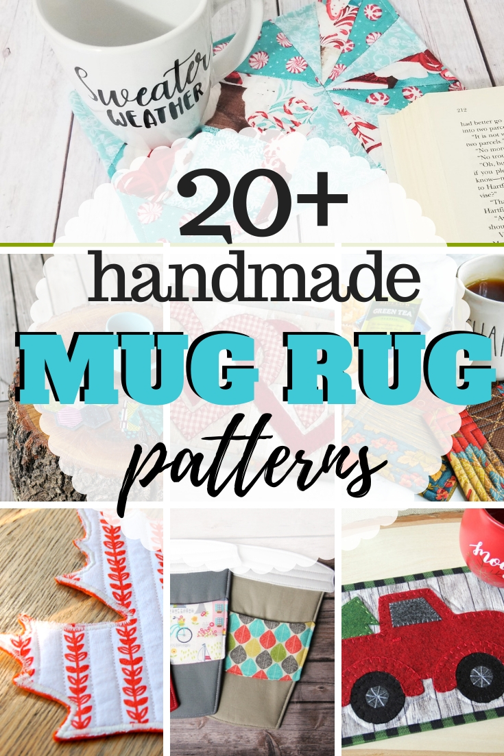 20 Mug Rug And Coaster Sewing Patterns