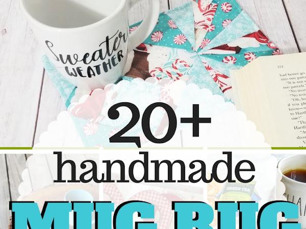 20+ Mug Rug and Coaster Sewing Patterns