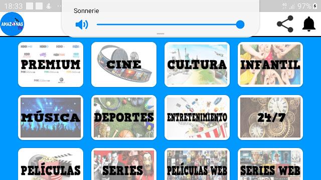 تحميل تطبيق AmazonasTV pro APK لمشاهدة القنوات اللاتينية المشفرة 2020