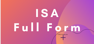 ISA full meaning