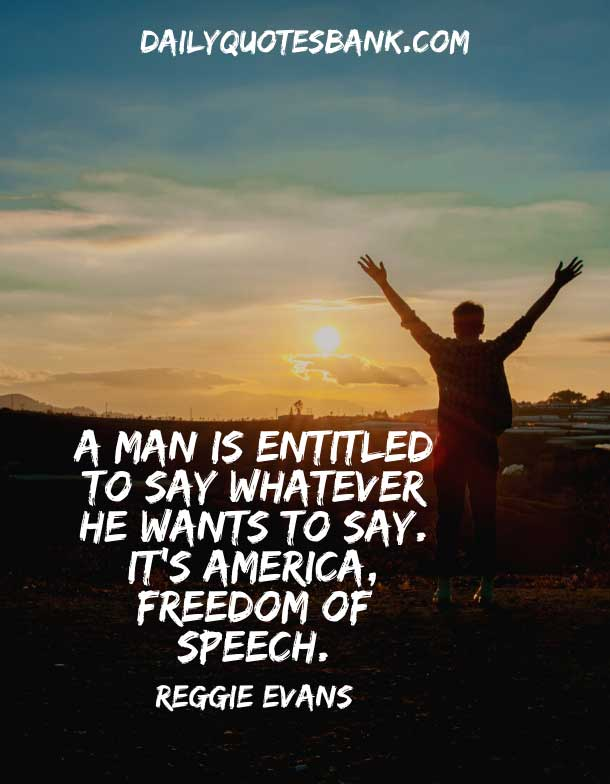 American Quotes About Freedom Of Speech