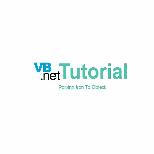 Cara Parsing Json Kedalam Bentuk Object Di VB.NET