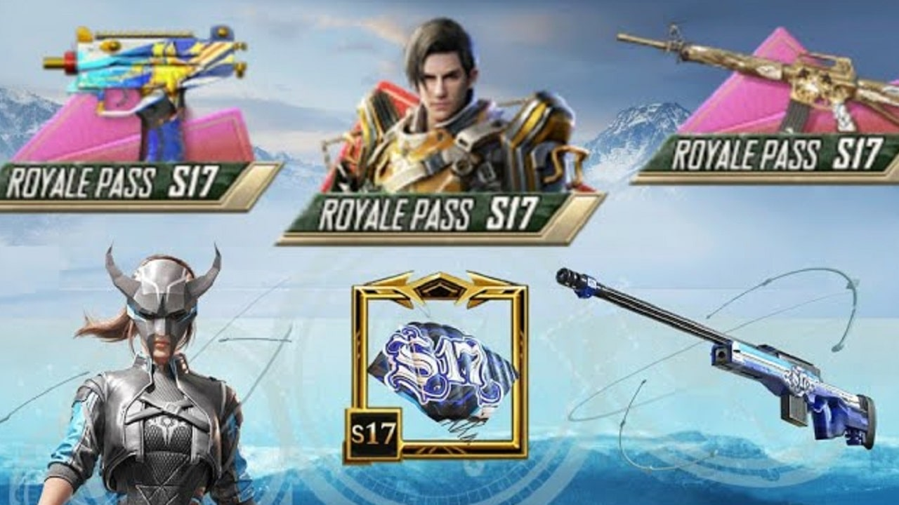 PUBG Mobile Season 17 Royale Pass Rewards Leaks