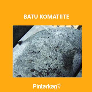 Gambar Batu Komatiite