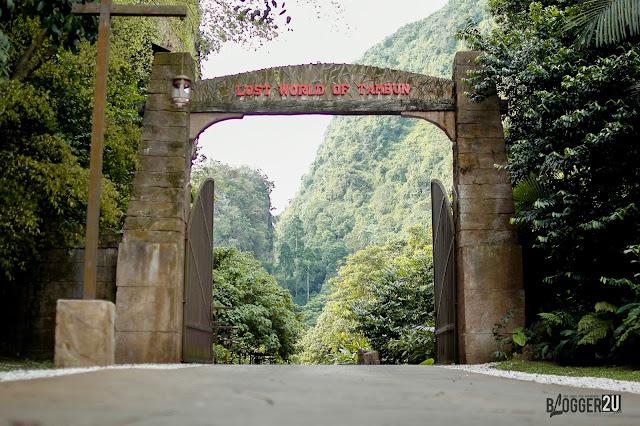 Glamping Dan Tarikan Terbaru Lost World of Tambun