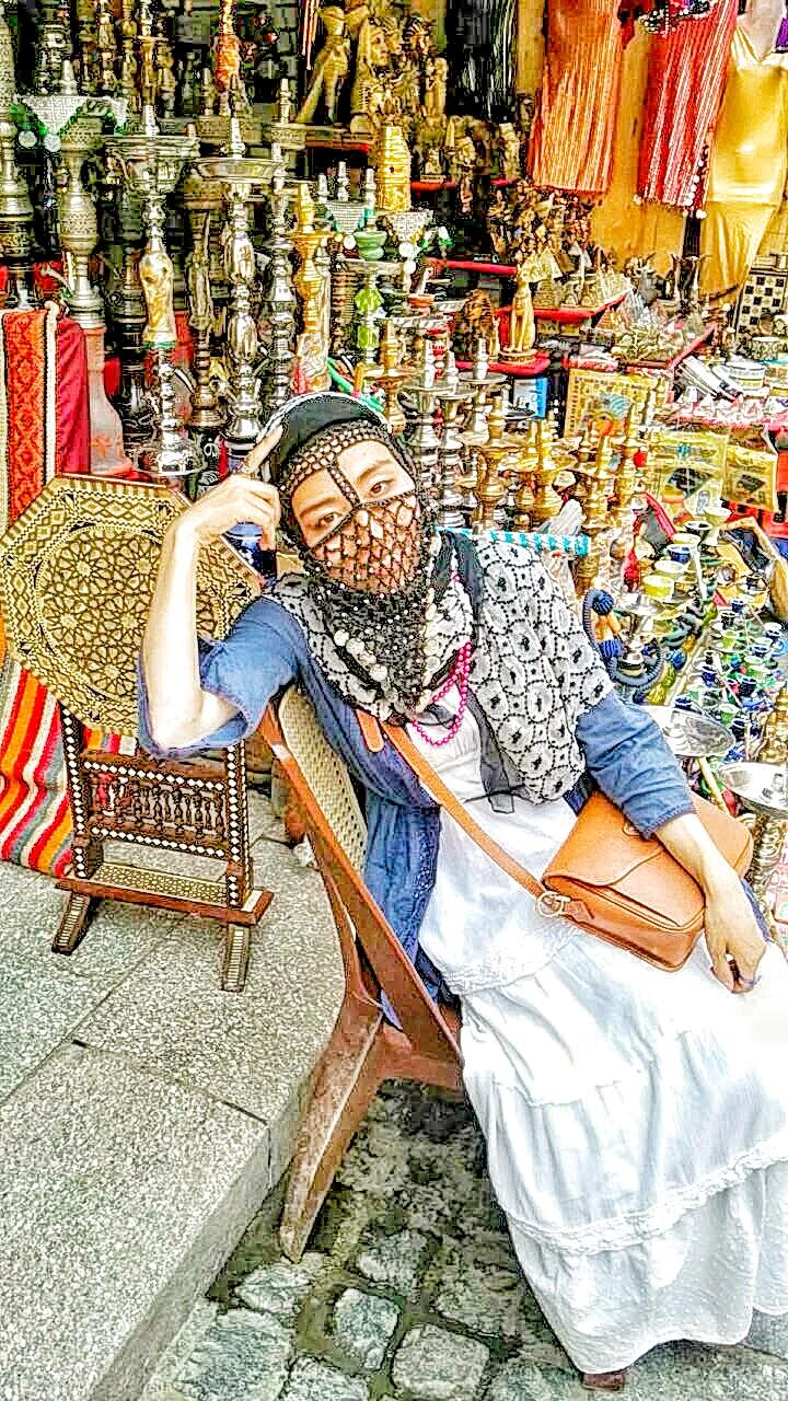 ヤシュマクとエジプトの街並み
