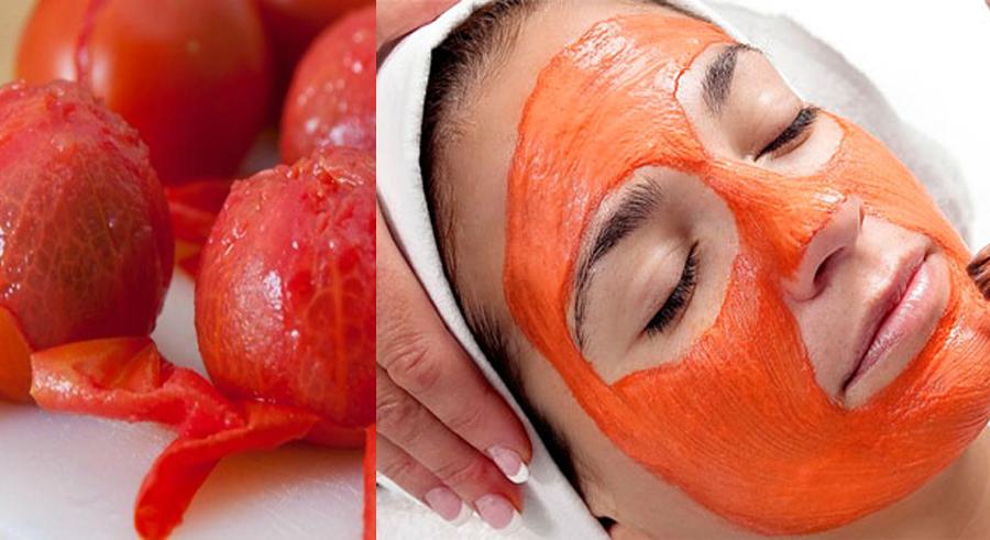 Dưỡng trắng da bằng mặt nạ cà chua