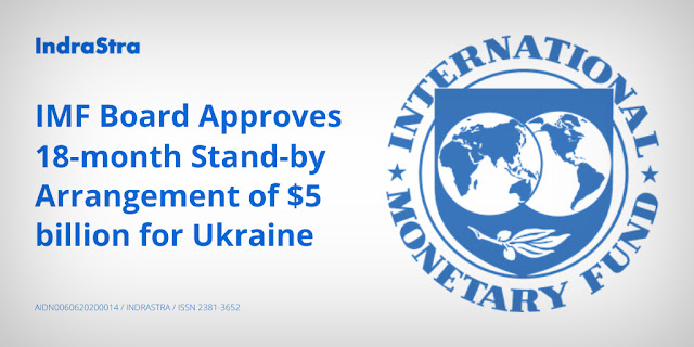 IMF Board Approves 18-month Stand-by Arrangement of $5 billion for Ukraine