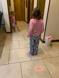 The Floor is Lava Sight Word Game
