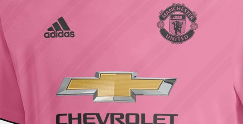 442bb230703 Pink Adidas Manchester United 18-19 Away Kit Concept by SL Design