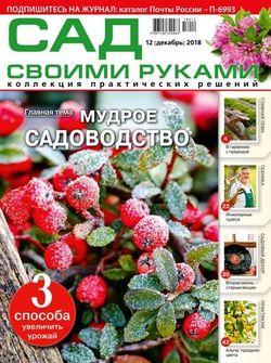 Читать онлайн журнал Сад своими руками (№12 декабрь 2018) или скачать журнал бесплатно