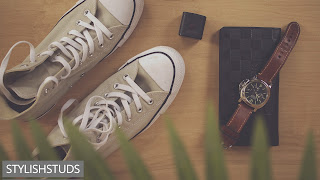 Image of shoes along with purse watches and other accessories.