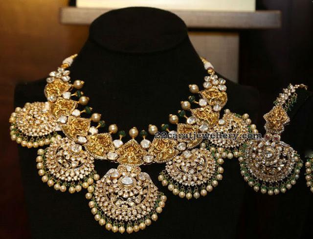 Trendy Polki Choker by Kalasha Jewels