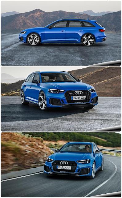 Begitu Menawannya Body Audi RS4 Avant 2018 terbaru