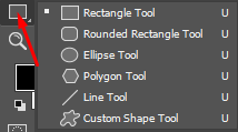 Shape tool Photoshop dan fungsinya