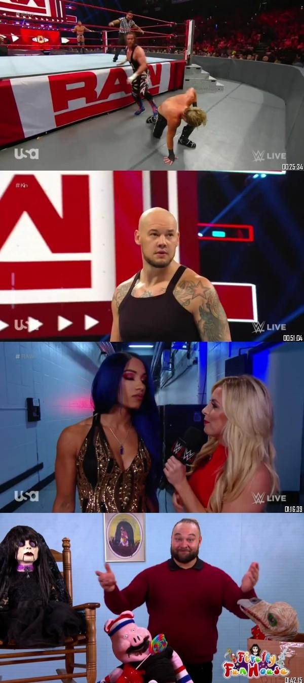 Screen Shoot of WWE Monday Night Raw 02 September 2019 HDTV 480p 500MB