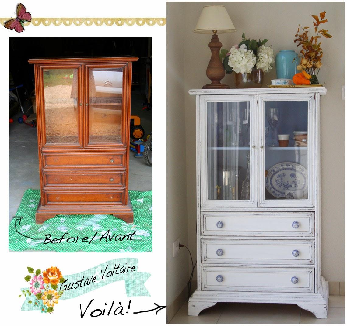 gustave et voltaire my little french cabinet mon petit vaisselier. Black Bedroom Furniture Sets. Home Design Ideas