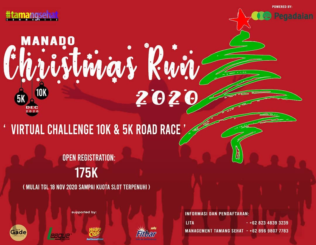 Manado Christmas Run • 2020