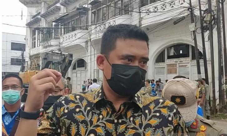 Boby Nasution Walikota medan