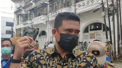Walikota Medan Terpilih Bobby Nasution Ingin Sulap Kesawan Medan Jadi Kawasan Wisata Kuliner
