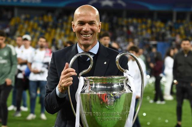 Zinedine Zidane open to replacing Jose Mourinho as Manchester United manager