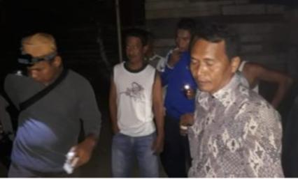 Penggerebekan narkoba di Sidimpuan.