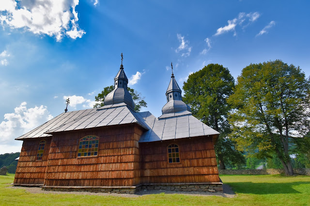 Cerkiew w Olchowcu - Szlak Architektury Drewnianej