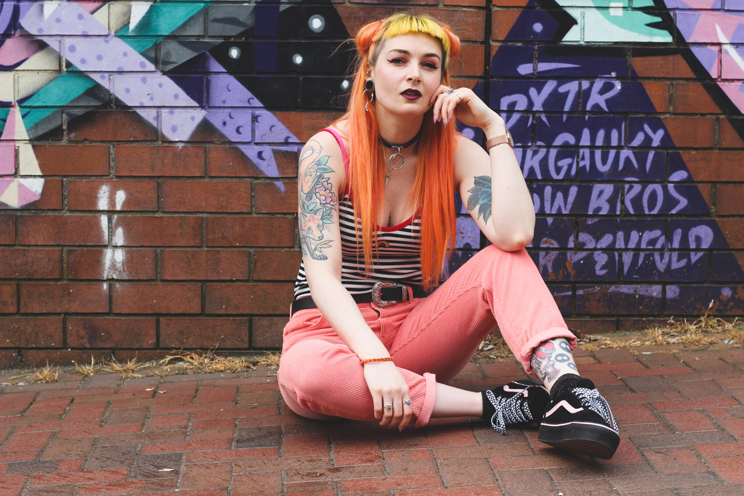 Alternative Fashion Blogger Foxxtailz Styles See You Never Cords