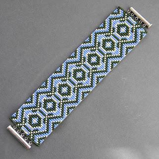 купить браслет из бисера ручной работы этника украшения в этно-стиле