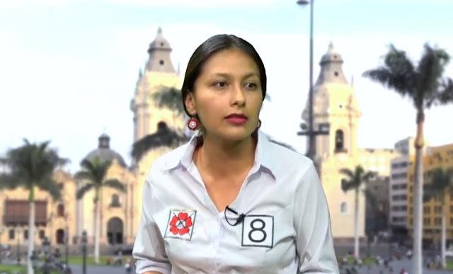 Arlette Contreras, congresista por el Frente Amplio