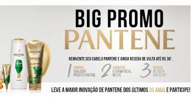 Big Promo Pantene - Experimente os Cosméticos e Receba o Dinheiro de Volta