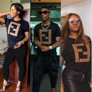 Tiwa Savage, Davido and Miss Assurance,  Chioma