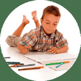 ¿Cómo debería un niño hacer un mapa mental?