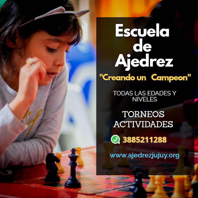 Escuela de ajedrez en Jujuy