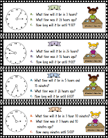48 Time Elapsed Task Cards