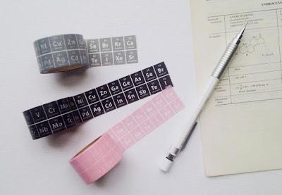 Chemistry Washi Tape