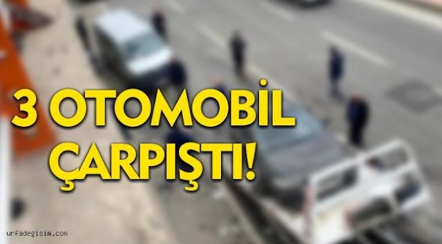 Urfa'da zincirleme trafik kazası: 5 yaralı
