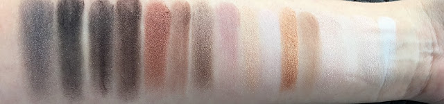 Lorac PRO 1 palette review swatches