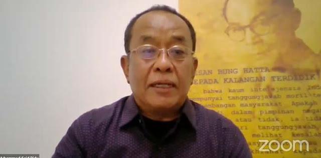Said Didu: Implementasi UU Corona Praktik Nyata Oligarki Kekuasaan