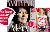 Logo VanityFair ti regala Glamour con il nuovo coupon omaggio
