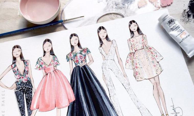Vẽ thiết kế quần áo đẹp cách cắt may đồ bộ đơn giản với loại vải thông dụng tại nhà