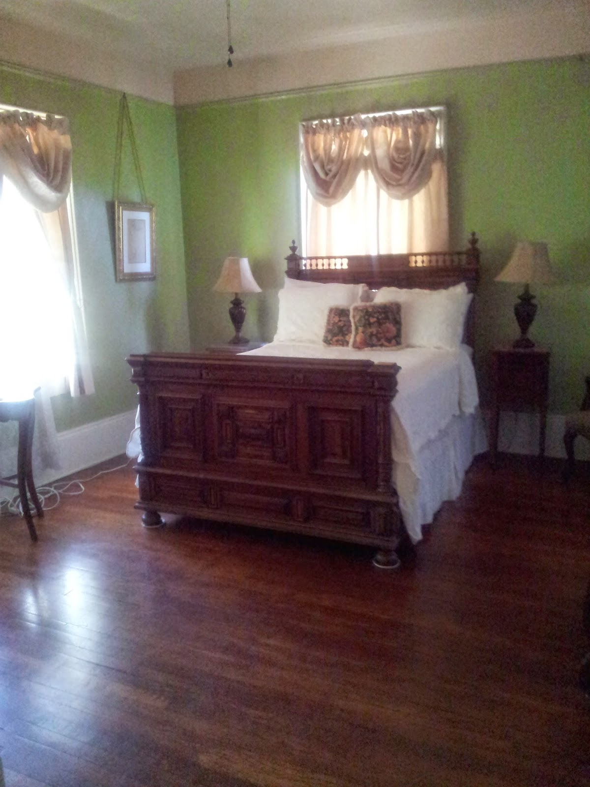 Guest room at Degas House, New Orleans